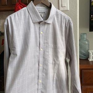 Express Men's Button Down Shirt - Size 17 - 17 1/2